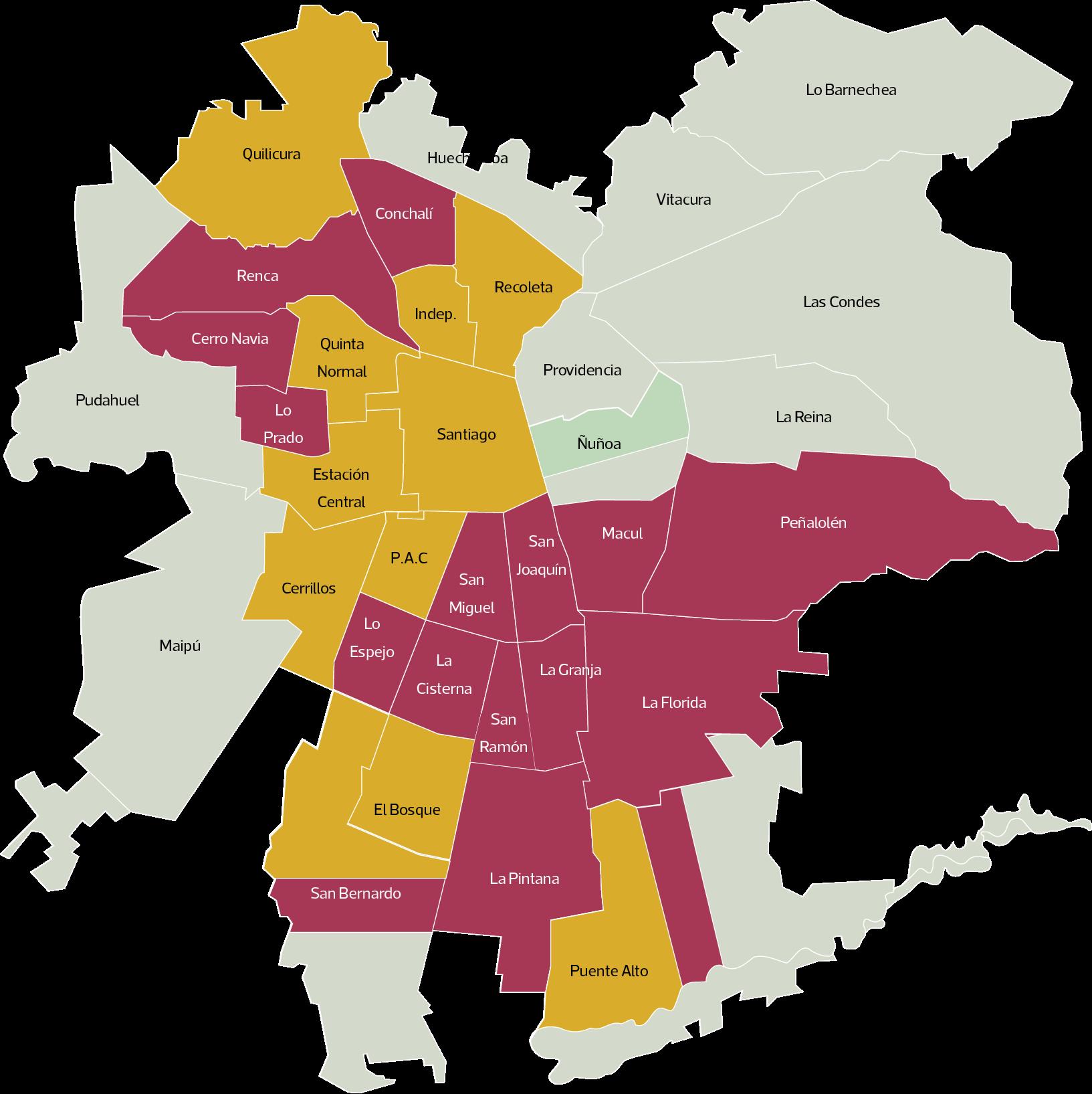 Noticias Chile | Revisa las comunas de la capital que podrían tener cuarentena por alza de contagios covid-19