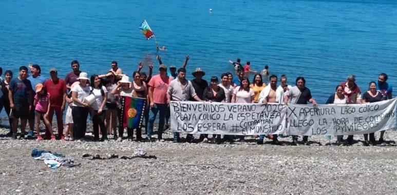 Noticias Chile | Chilenos destruyeron cerco que negaba el acceso libre al Lago Colico, gobierno anunció investigación