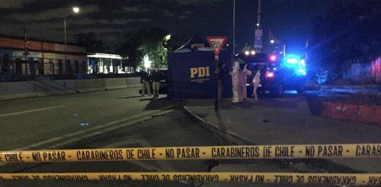 Noticias Chile   Acribillan a balazos a delincuente en semáforo en Santiago por ajuste de cuentas