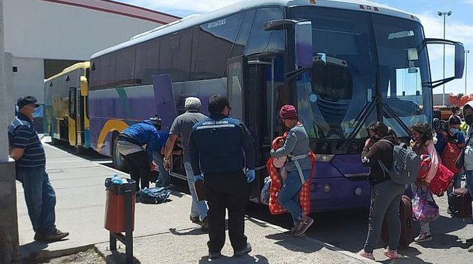 Noticias Chile | Situación crítica en Colchane, a esta hora 500 venezolanos llegan a Iquique de un total de 1.600