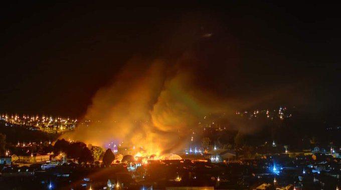 Noticias Chile | Delincuentes queman Municipio, Correo y Registro Civil de Panguipulli