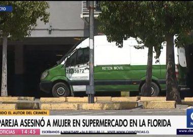 Femicidio | Ex pareja acuchilló a mujer dentro de supermercado Líder en La Florida