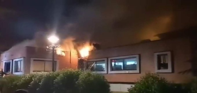 Noticias Chile | Incendio consume parte de la municipalidad de Villarrica