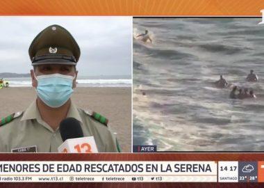 Noticias Chile   Carabineros héroes rescatan del mar a siete personas de morir ahogados
