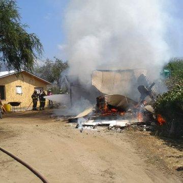 Noticias Chile   Avioneta se estrelló en Curacaví, piloto salva de milagro