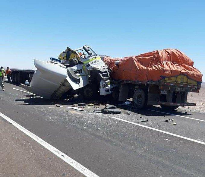 Noticias Chile   Grave accidente deja un fallecido en el norte del país