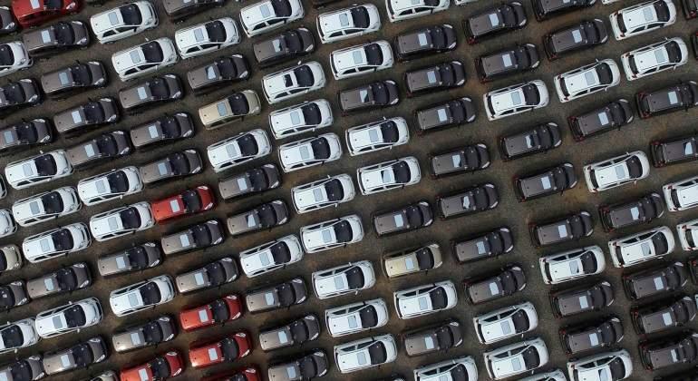 Noticias Chile   Masiva descarga de auto 0 Kilómetros llegaron al Puerto de San Antonio para cubrir demanda en el país