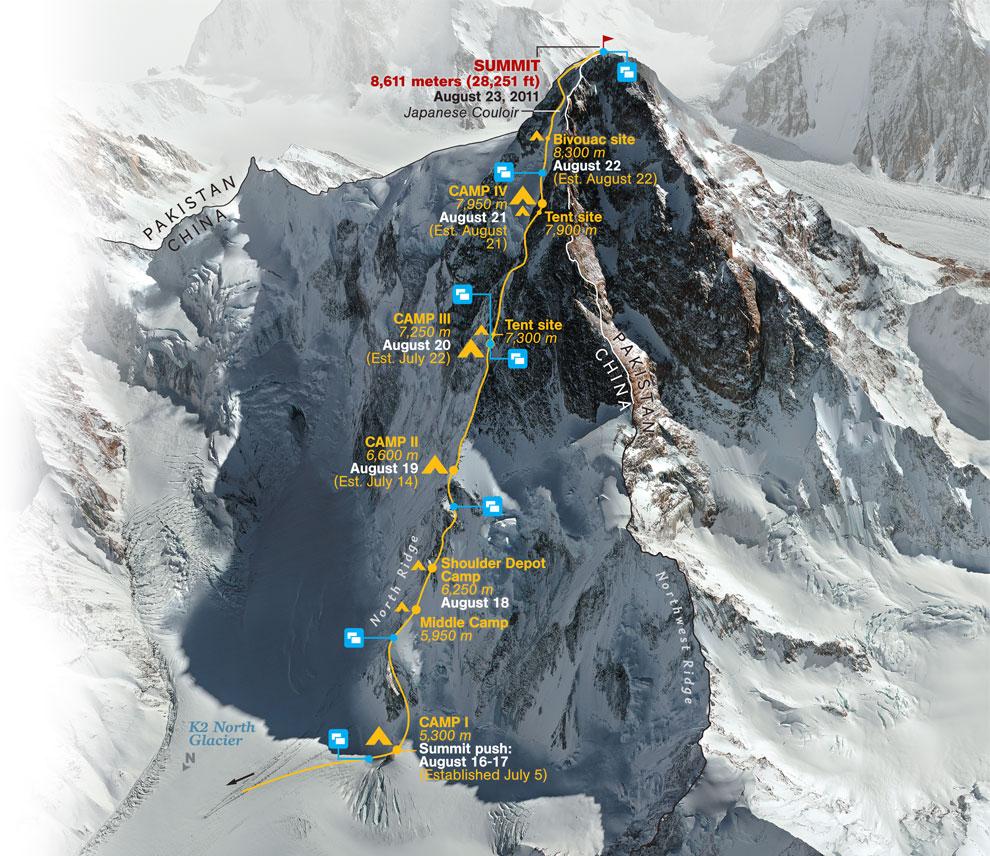 Noticias Chile   Se teme lo peor, chileno está perdido a 8 mil metros con temperaturas bajo 0 en la montaña K2
