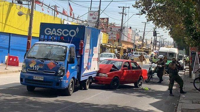 Noticias Chile | Carabinera es atropellada en barrio Franklin por delincuente