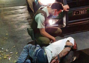 Noticias Chile | Delincuente es amarrado y golpeado en Huechuraba en nueva detención ciudadana