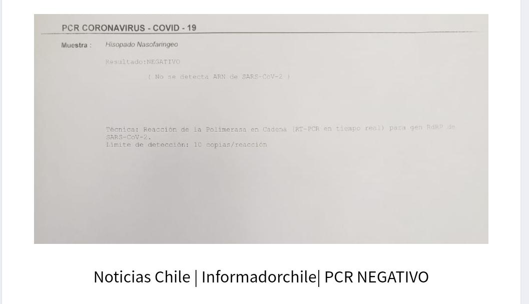 PCR NEGATIVO