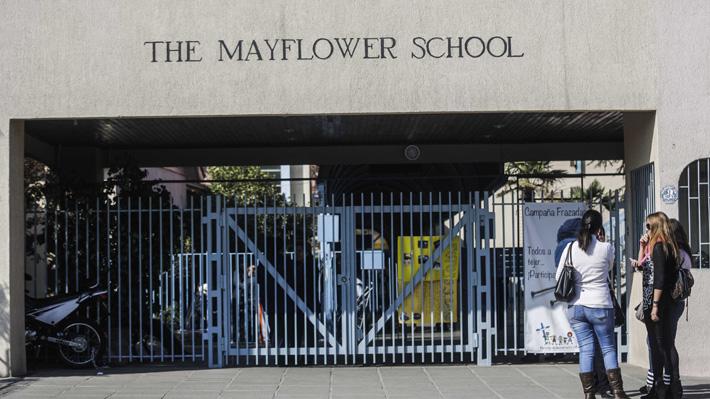 """Colegio Mayflower se defiende por caso audio: """"Se acordó el término de contrato por mutuo acuerdo con la profesora"""""""