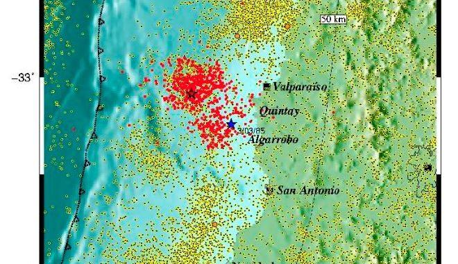 Noticias Chile | Sismólogo confirmó enjambre sísmico en Navidad, y llamó a estar preparados