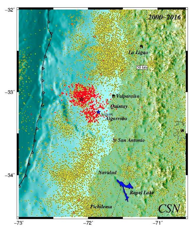 Noticias Chile   Sismólogo confirmó enjambre sísmico en Navidad, y llamó a estar preparados