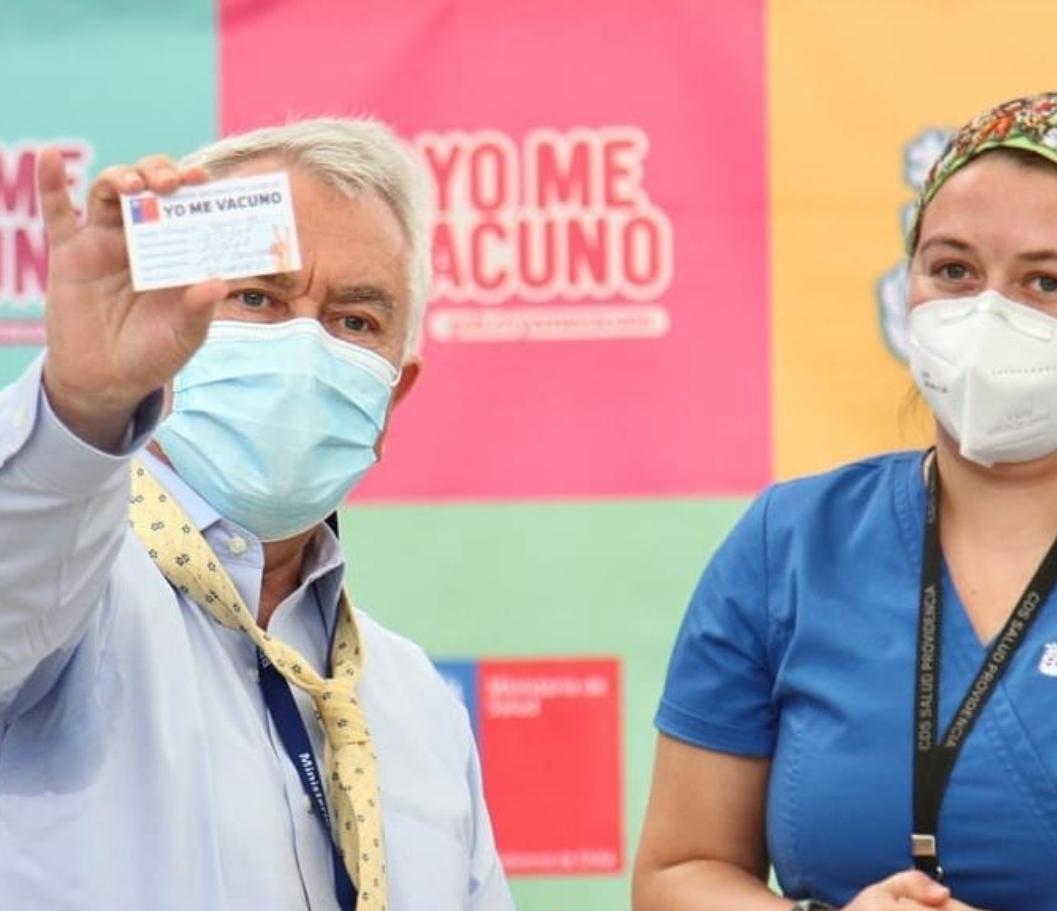 Noticias Chile | El lunes comienza la vacunación de mujeres embarazadas, que tengan alguna comorbilidad