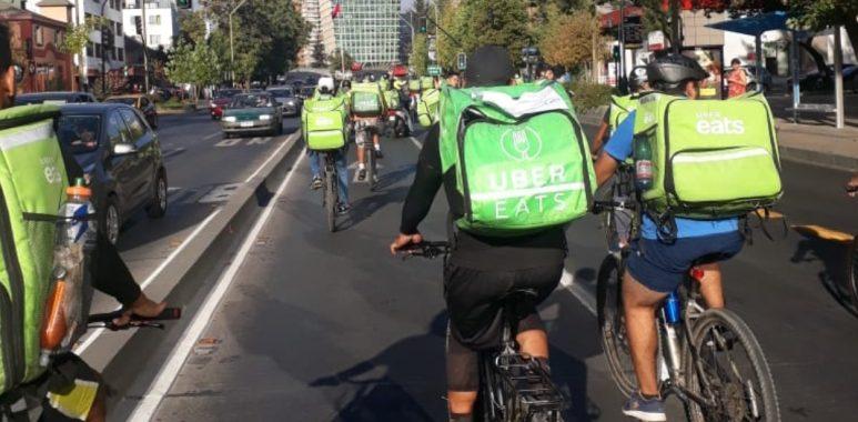 Miles de trabajadores Delivery amenazan con un paro nacional por la inseguridad en las calles