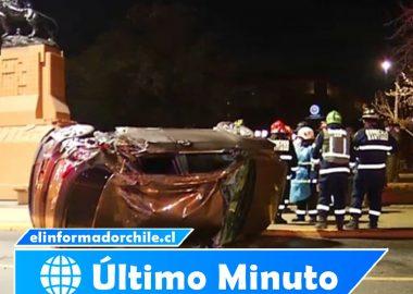 Noticias Chile - Carabineros son desvinculados de la institución, luego de protagonizar accidente en Plaza Italia