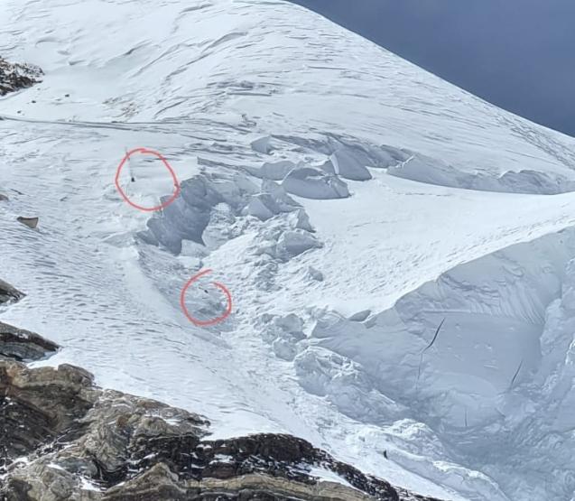 El crudo relato del montañista Valentyn Sypavin, que encontró los restos de  Juan Pablo Mohr en el K2 - Noticias Chile | Informadorchile |